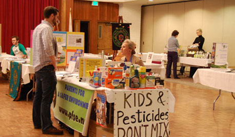 Parents for a Safer Environment was one of many green groups at the Eco-Fair.