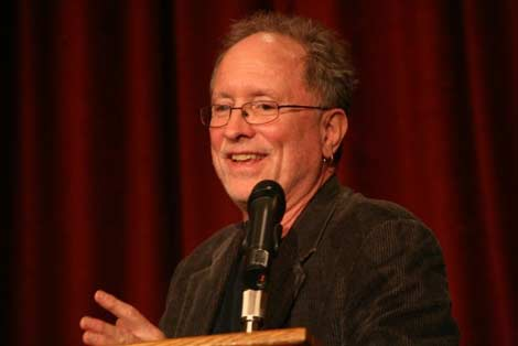 Bill Ayers delivered an address in