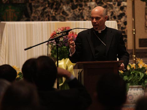 Bishop Salvatore Cordileone of the Diocese of Oakland.