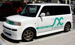 The Ebox Electric Vehicle.