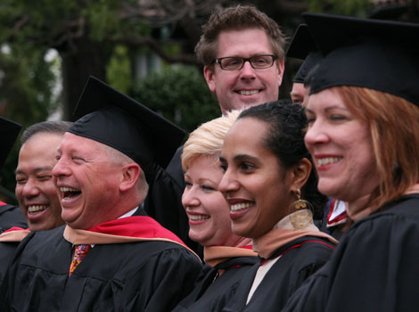 Graduate Business Programs Commencement