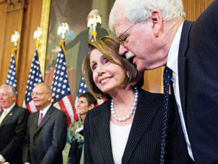 Rep. George Miller, D-Martinez, has the ear of Speaker of the House Nancy Pelosi. Photo from Politico.com.