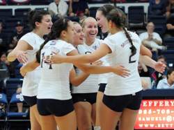 Saint Mary's volleyball team finished the regular season with a 20-7 record and earned one of 64 bids to the NCAA Division I championship tournament.