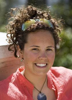 Fulbright scholar Whitney Medved.